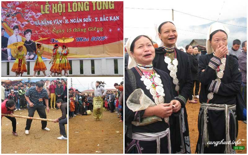 Lễ hội Lồng tồng Bằng Vân với rất nhiều hoạt động thú vị (Ảnh – Kệ Mai Tính)